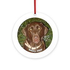 Bailey 2009 Ornament (Round)