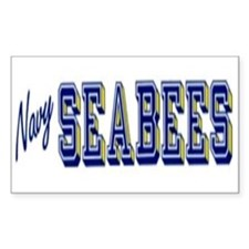 Sticker Navy Seabees