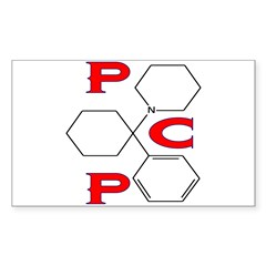 PCP ANGEL DUST Rectangle Decal
