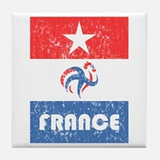 Part 7/8 - France World Cup 2010 Tile Coaster