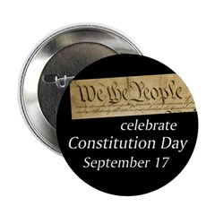 We the People Constitution Day button