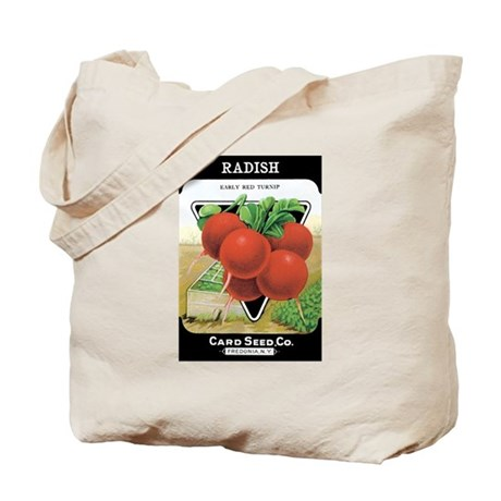 Vintage Radish Grocery Bag