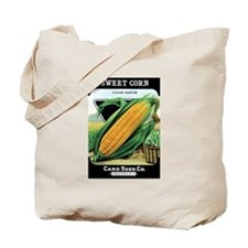 Vintage Sweet Corn Grocery Bag