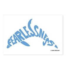 Fearlessness Dolphin Postcards (Package of 8)