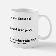 Meeting Time Management Mug
