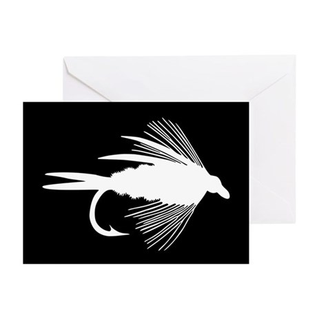 WHITE FLY Greeting Cards (Pk of 20)