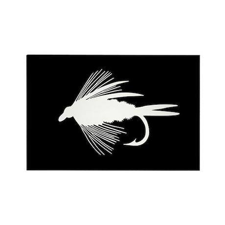 WHITE FLY Rectangle Magnet (10 pack)