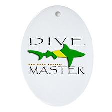 Nitrox Dive Master Oval Ornament