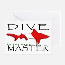Dive Master Greeting Card