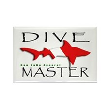 Dive Master Rectangle Magnet