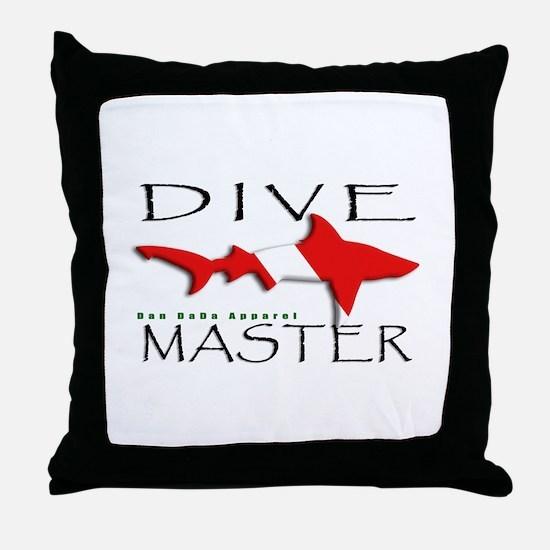 Dive Master Throw Pillow
