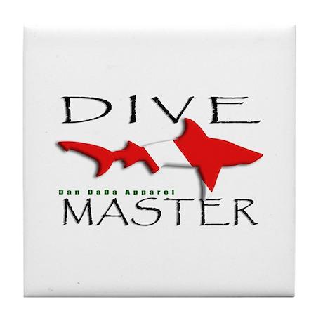 Dive Master Tile Coaster
