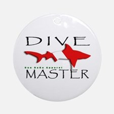 Dive Master Ornament (Round)