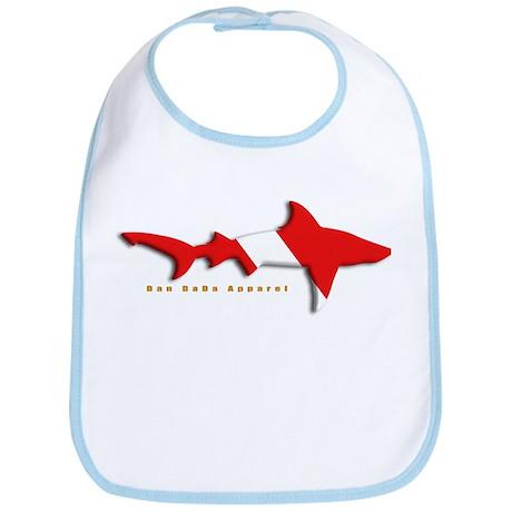 Shark Diving Flag Bib