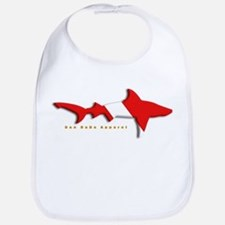 Shark Diving Flag Bib