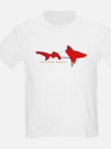 Shark Diving Flag T-Shirt