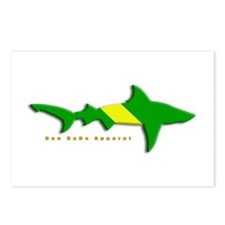 Shark Nitrox Diving Flag Postcards (Package of 8)
