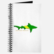 Shark Nitrox Diving Flag Journal