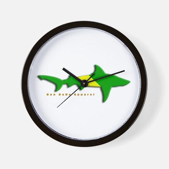 Shark Nitrox Diving Flag Wall Clock