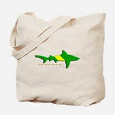 Shark Nitrox Diving Flag Tote Bag