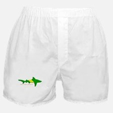 Shark Nitrox Diving Flag Boxer Shorts