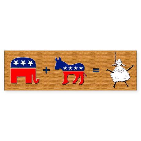 Republicrats = Sheeple