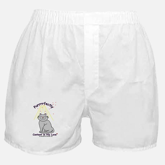 Purrrfectly content Boxer Shorts