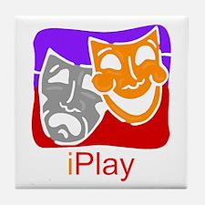 iPlay drama Tile Coaster