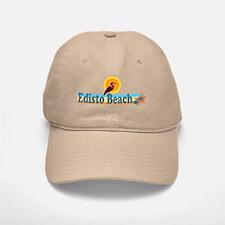 Edisto Beach SC - Beach Design Baseball Baseball Cap
