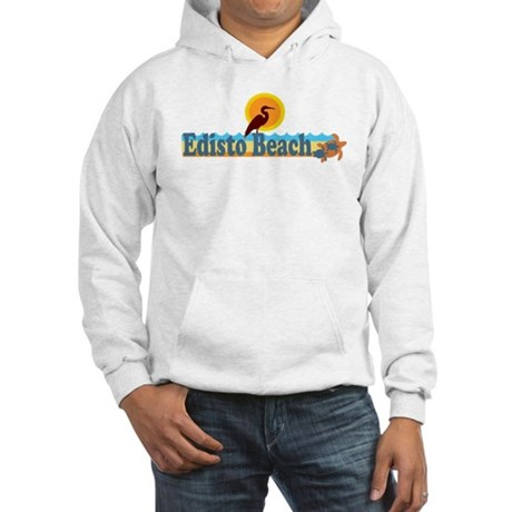 Edisto Beach SC - Beach Design Hooded Sweatshirt