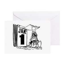 January 1st - Already?! Greeting Card