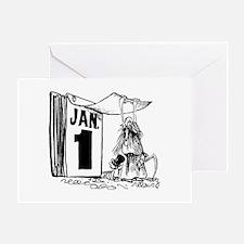 January 1st - Already?! Greeting Card