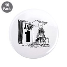 """January 1st - Already?! 3.5"""" Button (10 pack)"""