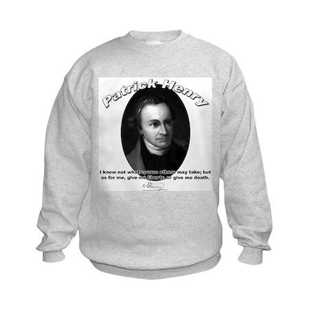 Patrick Henry 02 Kids Sweatshirt