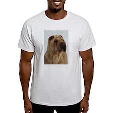 Chinese Shar-Pei Head Study - T-Shirt