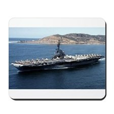 CV 16 Ship's Image Mousepad