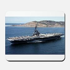 CV 16 Ship's Image Mousepad