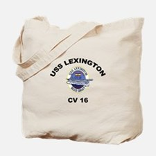 CV 16 Ship's Image Tote Bag