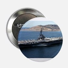 "CV 16 Ship's Image 2.25"" Button"