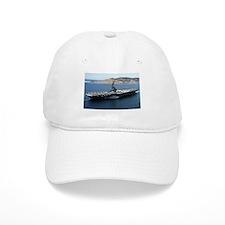 CV 16 Ship's Image Baseball Cap