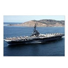 CV 16 Ship's Image Postcards (Package of 8)