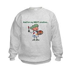 My Next Creation Sweatshirt