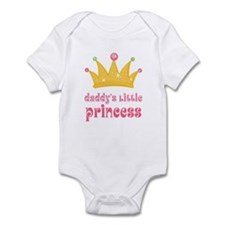 Pink Daddy's Little Princess Infant Bodysuit