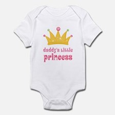 Pink Daddy's Little Princess Infant Bodysuit