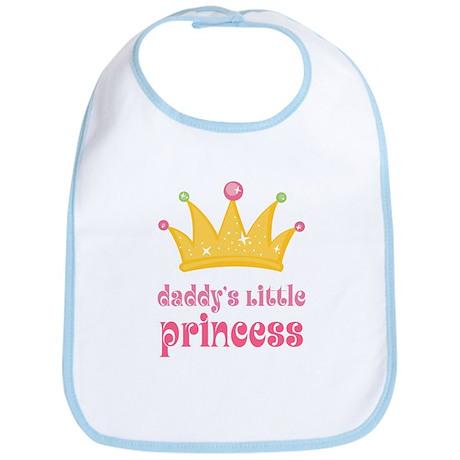 Pink Daddy's Little Princess Bib