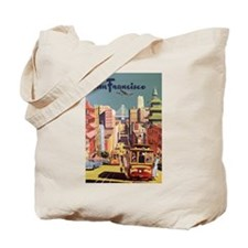 Vintage San Francisco Tote Bag