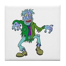 Dancing Zombie Tile Coaster