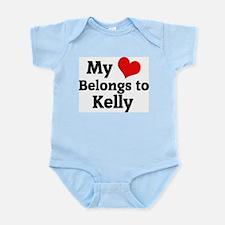My Heart: Kelly Infant Creeper