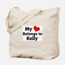 My Heart: Kelly Tote Bag