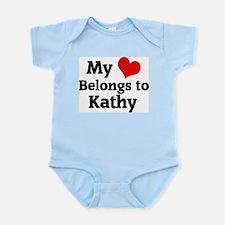 My Heart: Kathy Infant Creeper